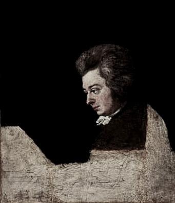 """""""モオツァルトという最上の音楽を聞き、モォツァルトという馬鹿者と附合わなければならなかったランゲ"""" の描いたモーツァルトの未完の肖像画"""